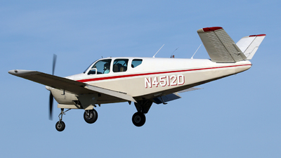 N4512D - Beechcraft G35 Bonanza - Private