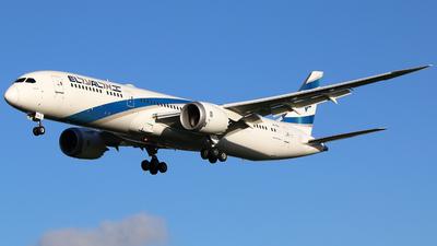 A picture of 4XEDL - Boeing 7879 Dreamliner - El Al - © Brian T Richards