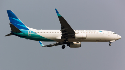 PK-GMP - Boeing 737-8U3 - Garuda Indonesia