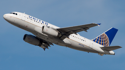 N847UA - Airbus A319-131 - United Airlines