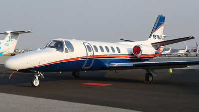 N614AJ - Cessna 550 Citation II - Private