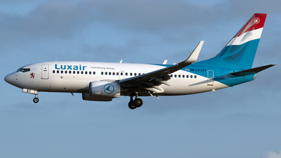 A picture of LXLBT - Boeing 7377K2 - Luxair - © PAUL LINK