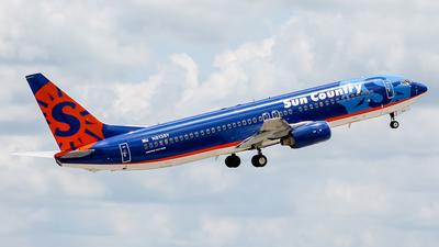 N813SY - Boeing 737-8Q8 - Sun Country Airlines