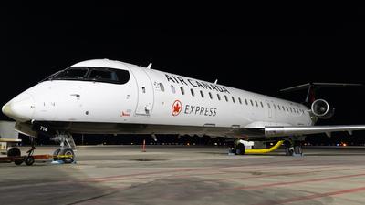 A picture of CGNJZ - Mitsubishi CRJ900LR - Air Canada - © Bharath Manvi
