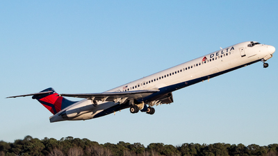 N993DL - McDonnell Douglas MD-88 - Delta Air Lines