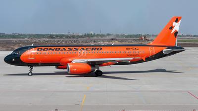 UR-DAJ - Airbus A320-232 - Donbassaero