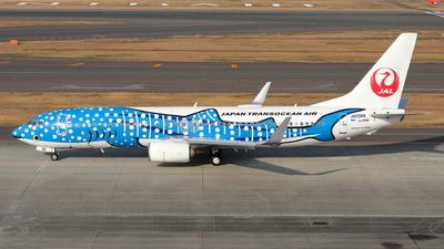 A picture of JA05RK - Boeing 7378Q3 - Japan Transocean Air - © TATSU