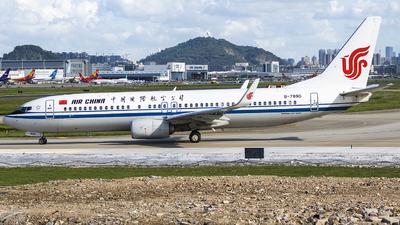 B-7890 - Boeing 737-89L - Air China