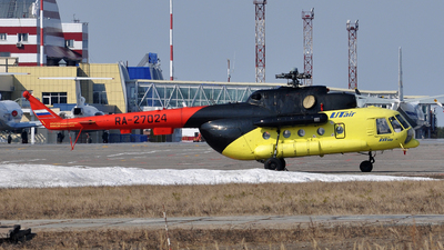 RA-27024 - Mil Mi-8MT Hip - UTair Aviation