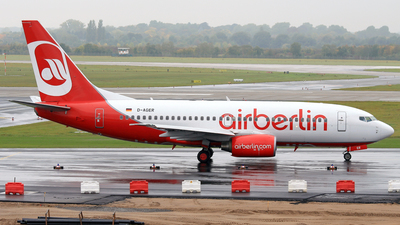 D-AGER - Boeing 737-75B - Air Berlin (Germania)