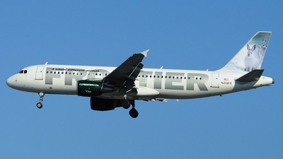 N219FR - Airbus A320-214 - Frontier Airlines
