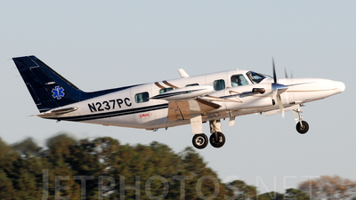 A picture of N237PC - Piper PA31T2 Cheyenne 2 - [31T8166045] - © Agustin Anaya