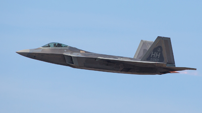 04-4063 - Lockheed Martin F-22A Raptor - United States - US Air Force (USAF)