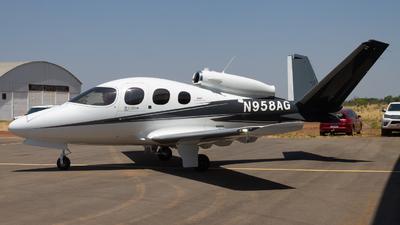 N958AG - Cirrus Vision SF50 G2 - Private