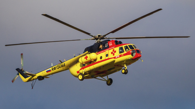 RA-24148 - Mil Mi-8AMT Hip - NAMS - National Air Medical Service (NSSA)