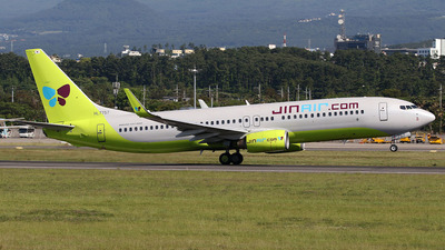 A picture of HL7757 - Boeing 7378GQ - Jin Air - © Chansik Shim