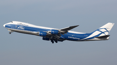 VQ-BRJ - Boeing 747-8HVF - Air Bridge Cargo