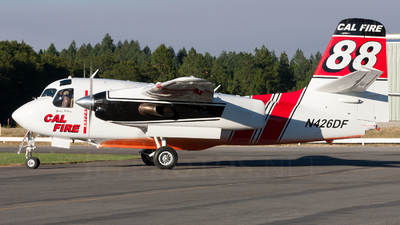N426DF - Grumman S-2F3AT Turbo Tracker - United States - California Department of Forestry