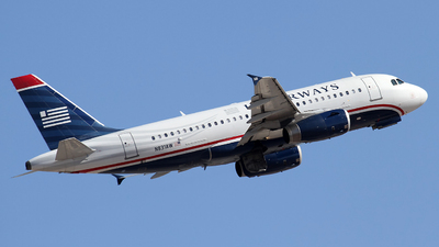 N831AW - Airbus A319-132 - US Airways