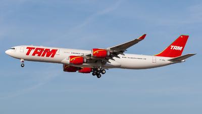 PT-MSL - Airbus A340-541 - TAM Linhas Aéreas