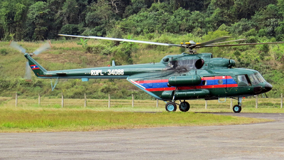 RDPL-34088 - Mil Mi-17V5 Hip H - Laos - Air Force