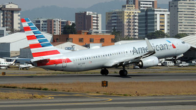 A picture of N873NN - Boeing 737823 - American Airlines - © Julio Letona