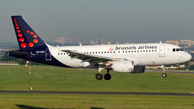 A picture of OOSSO - Airbus A319111 - Brussels Airlines - © Kyan Rossignol