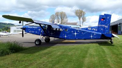 A picture of HBFKC - Pilatus PC6/B2H4 Turbo Porter - [844] - © Mirko Bleuer