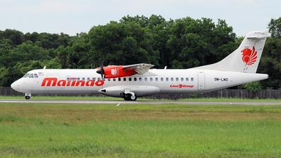 9M-LMO - ATR 72-212A(600) - Malindo Air