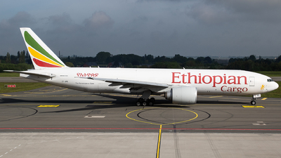 A picture of ETAPS - Boeing 777F6N - Ethiopian Airlines - © Oliver Sänger