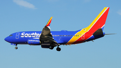 N7858A - Boeing 737-79P - Southwest Airlines