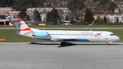 OE-LVI - Fokker 100 - Austrian Airlines