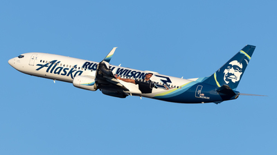 A picture of N296AK - Boeing 737990(ER) - Alaska Airlines - © Cary Liao