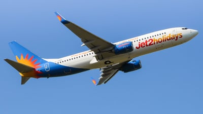 A picture of GJZHU - Boeing 7378MG - Jet2 - © Andrew McCarron