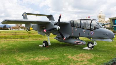 FAC2223 - North American OV-10A Bronco - Colombia - Air Force