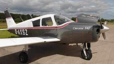 G-AXSZ - Piper PA-28-140 Cherokee B - Private