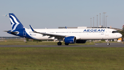 A picture of SXNAC - Airbus A321271NX - Aegean Airlines - © Sierra Aviation Photography