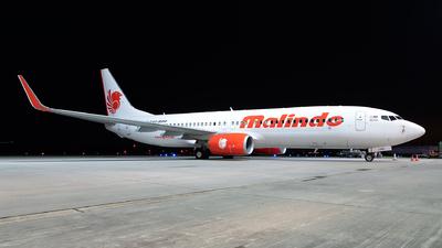 9M-LNS - Boeing 737-8GP - Malindo Air