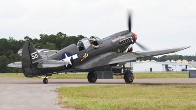NL977WH - Curtiss P-40N Warhawk - Private