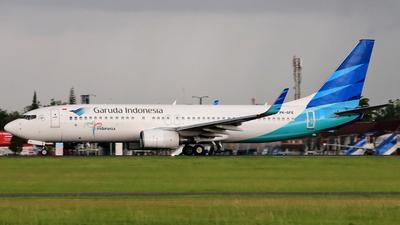 PK-GFE - Boeing 737-8U3 - Garuda Indonesia