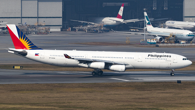RP-C3436 - Airbus A340-313X - Philippine Airlines
