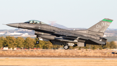 89-2151 - General Dynamics F-16CM Fighting Falcon - United States - US Air Force (USAF)