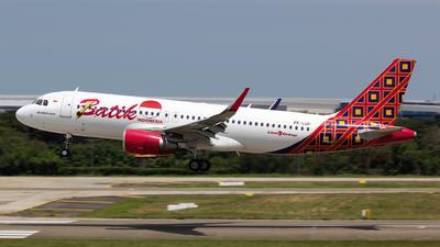 PK-LUP - Airbus A320-214 - Batik Air