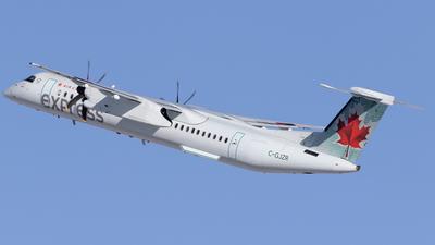A picture of CGJZR - De Havilland Canada Dash 8400 - Air Canada - © Mike MacKinnon