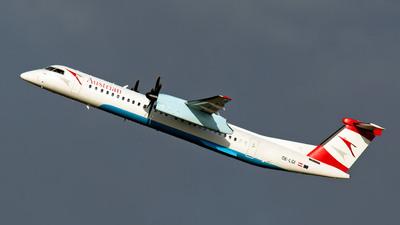 A picture of OELGI - De Havilland Canada Dash 8400 - Austrian Airlines - © Rainer Spoddig