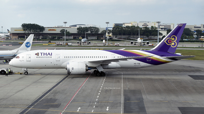 HS-TQE - Boeing 787-8 Dreamliner - Thai Airways International