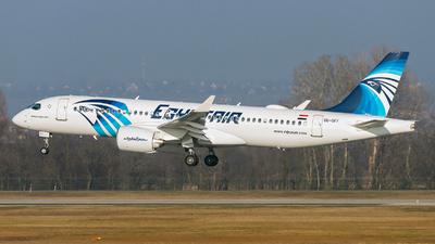 SU-GFF - Airbus A220-371 - EgyptAir
