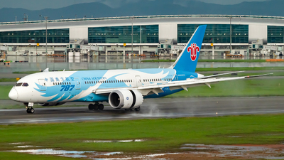 A picture of B2787 - Boeing 7878 Dreamliner - China Southern Airlines - © Mickey-Mi