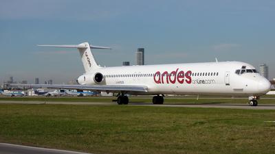 LV-AYD - McDonnell Douglas MD-83 - Andes Líneas Aéreas