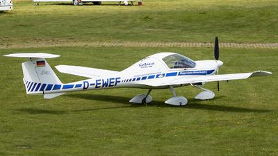 D-EWEF - Diamond DA-20-A1 Katana - Fliegerschule Wasserkuppe
